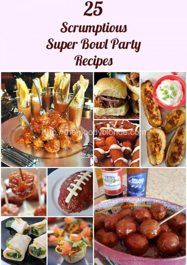 25 Scrumptious Game Day Party Recipes