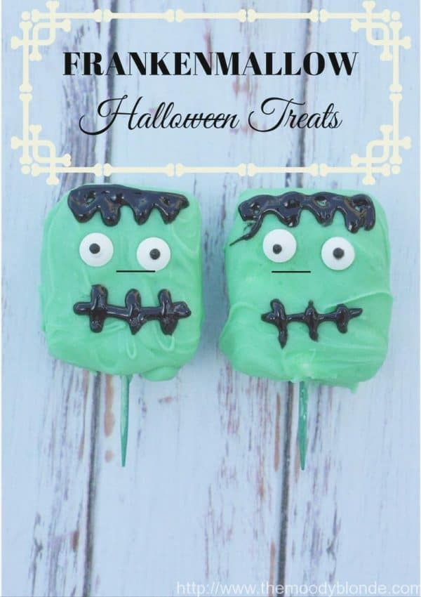 Adorable Franken-Mallow Halloween Treats Recipe