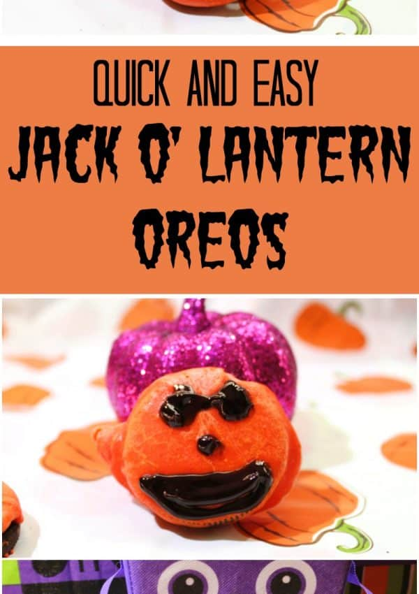 Quick and Easy Jack O'Lantern Oreos Recipe