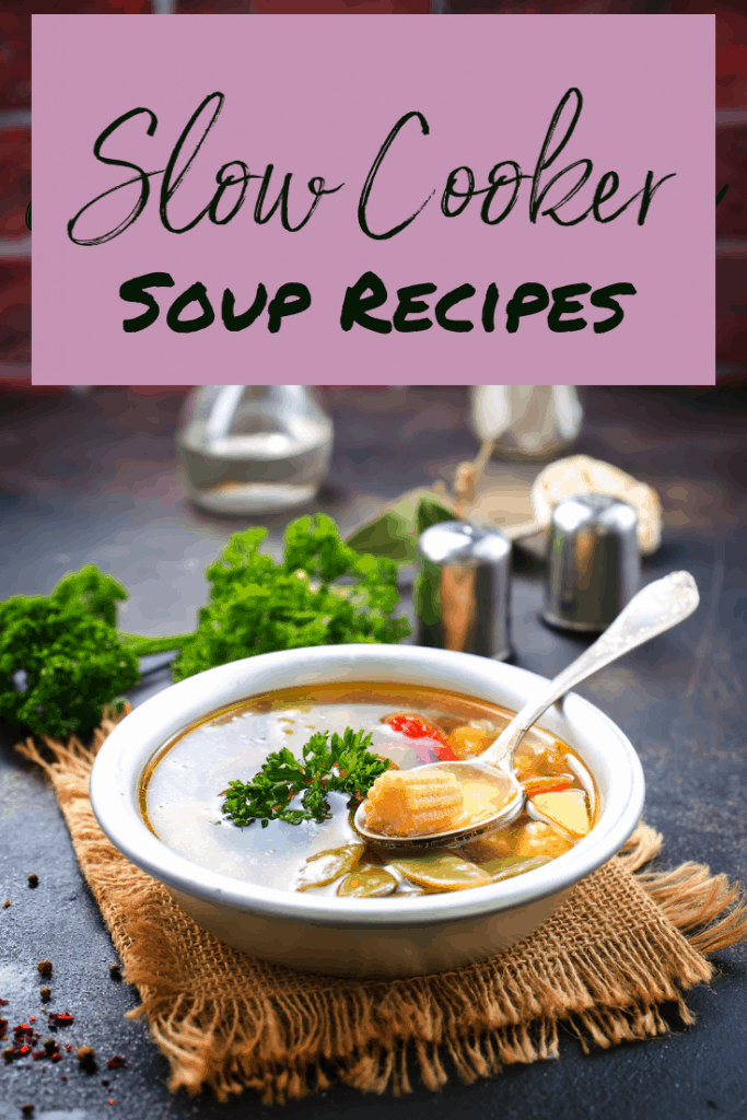 Slow Cooker Soup Recipes Collage