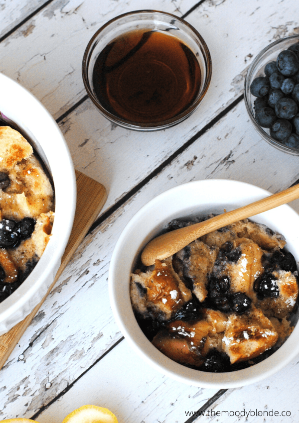 Instant Pot Lemon Blueberry French Toast Casserole