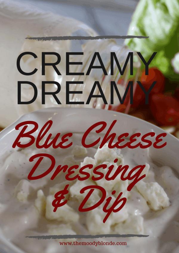 Creamy Dreamy Homemade Blue Cheese Salad Dressing Recipe