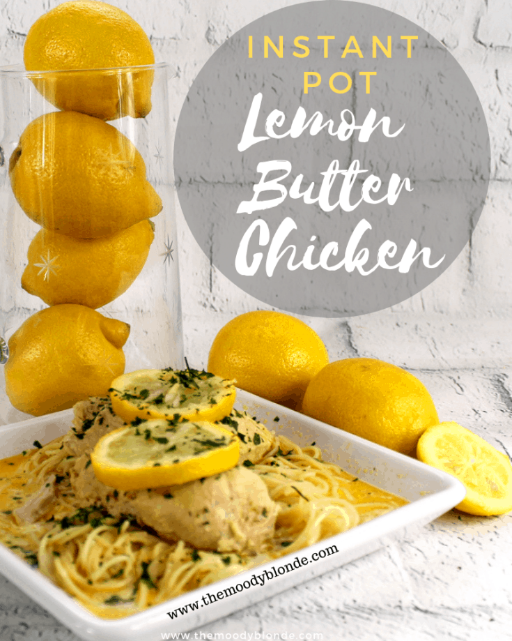 Instant Pot Lemon Butter Chicken