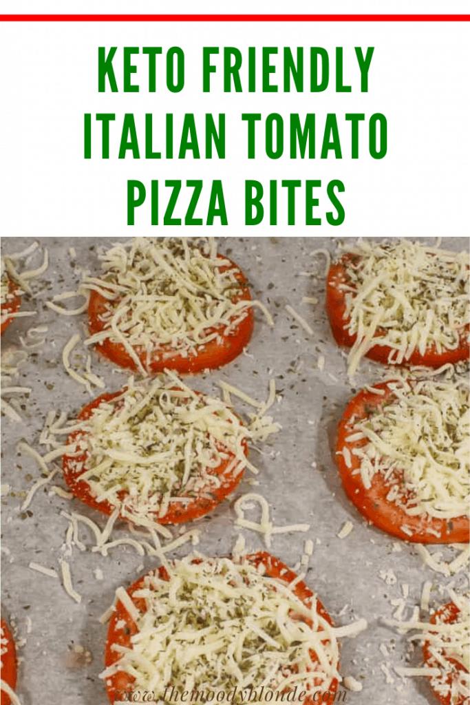 keto friendly Italian Tomato Pizza Bites