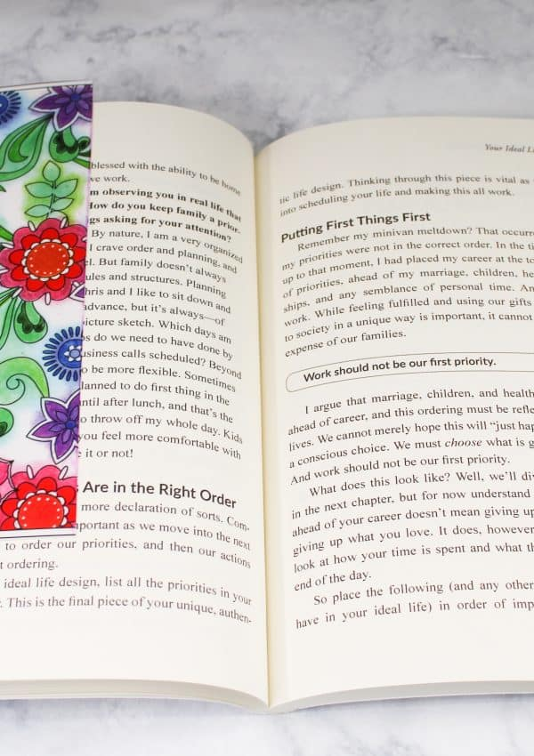 Super Easy Bookmark Craft