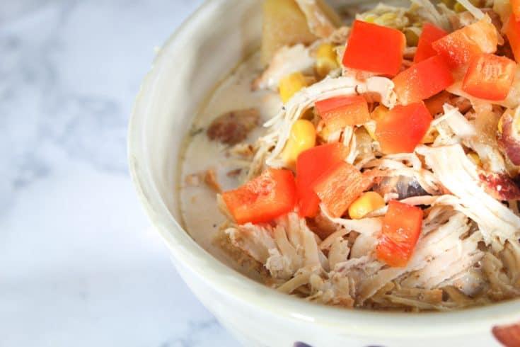 Instant Pot Chicken Bacon Corn Chowder