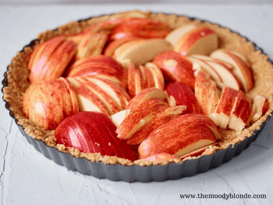 Delicious apple tart