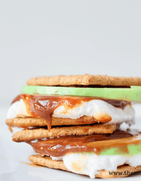 easy and delicious apple smores