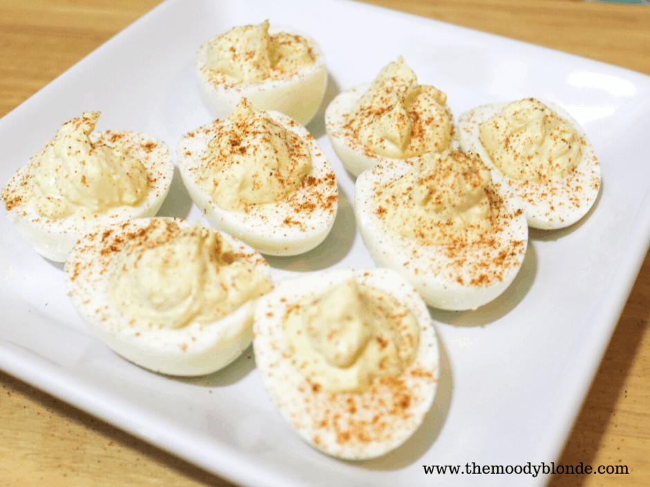 Instant Pot Deviled Eggs Finished 2