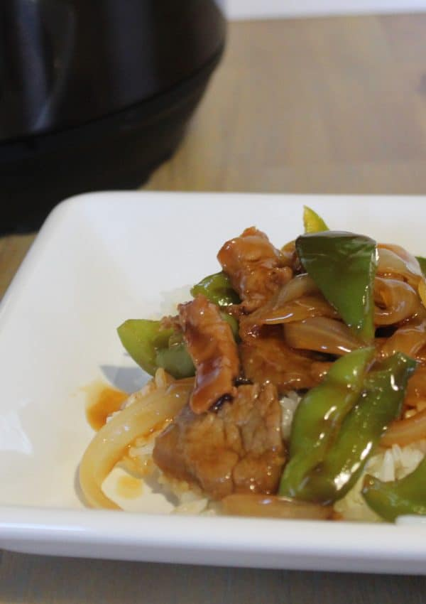 Easy Instant Pot Pepper Steak With Onions