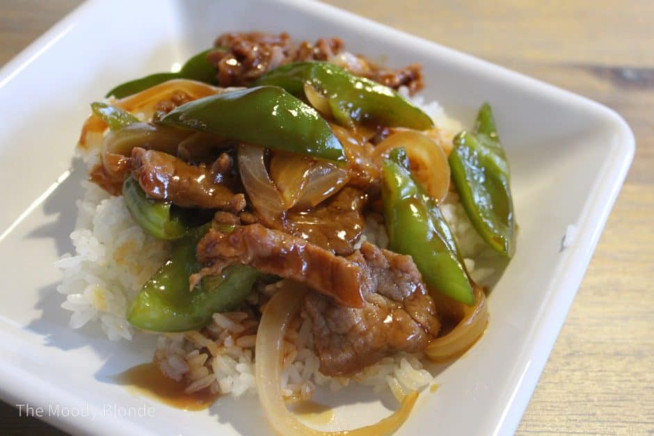 Instant Pot Pepper Steak