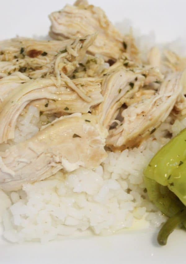 Instant Pot Mississippi chicken
