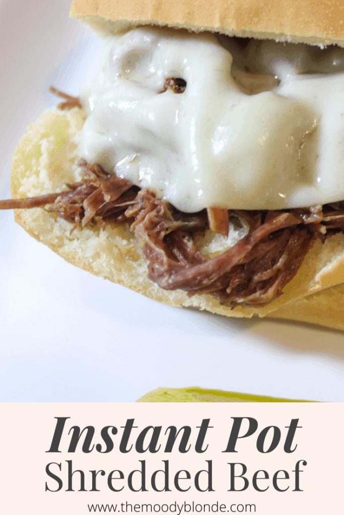 easy instant pot shredded beef
