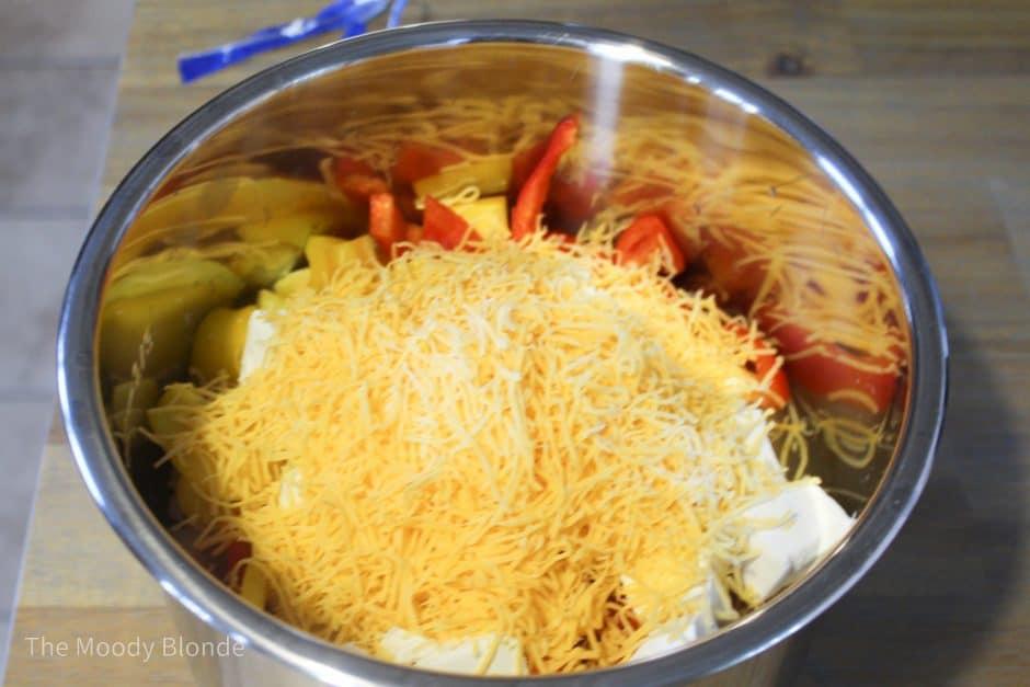 instant pot spaghetti chicken