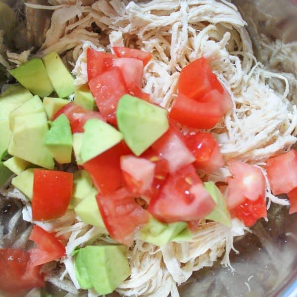 Easy Instant Pot Chicken Salad