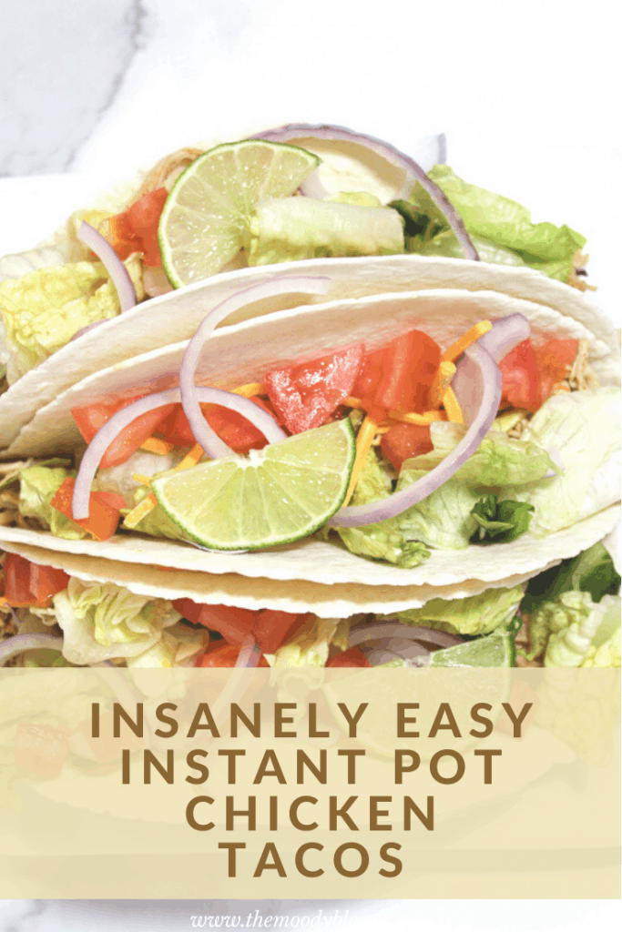 Instant Pot Chicken Tacos Pinterest 1