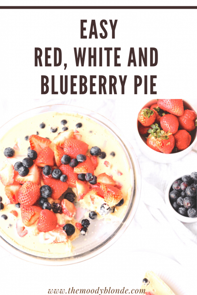 Red White and Blueberry Pie Pinterest 3