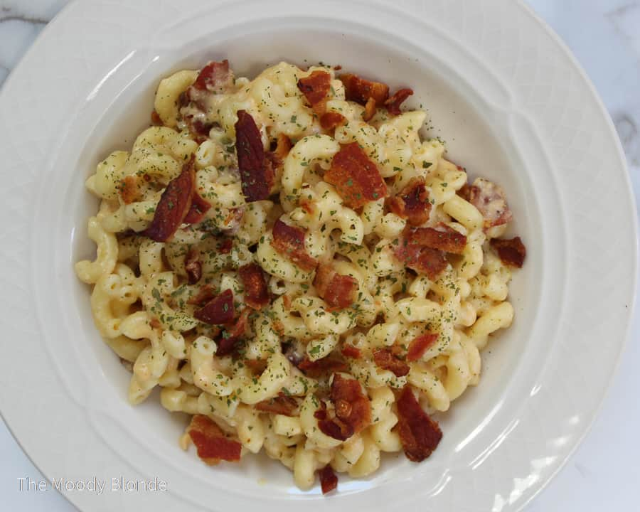 instant pot bacon macaroni and cheese