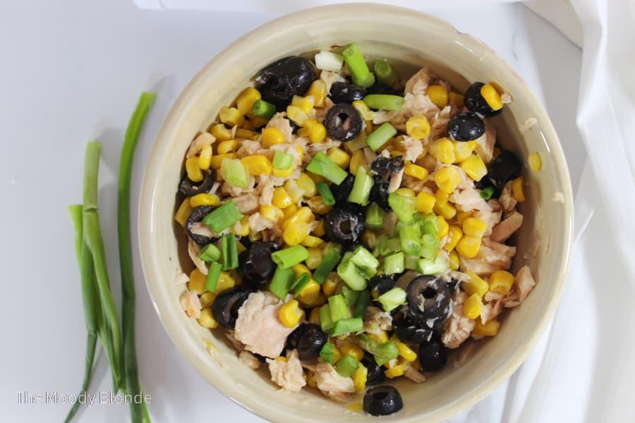 Easy Corn Tuna Salad