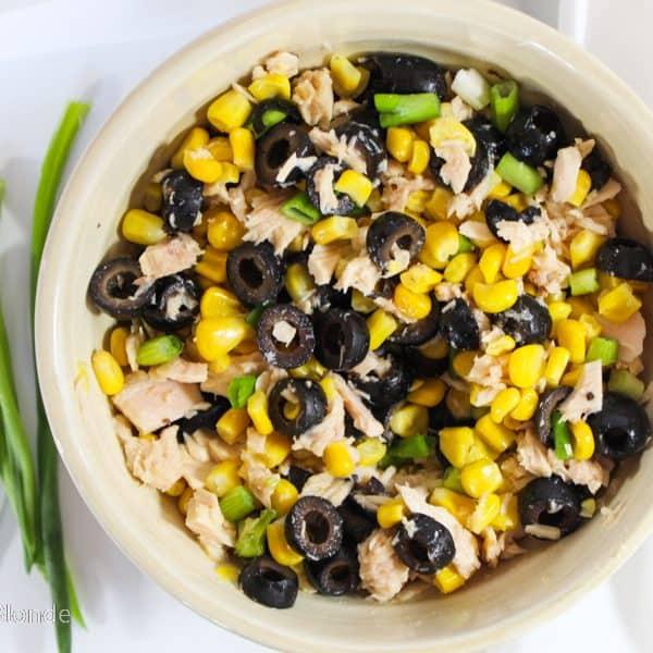 easy corn and tuna salad