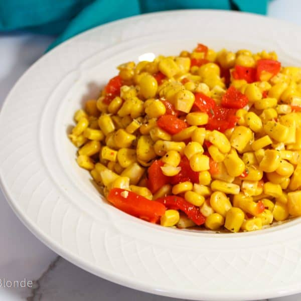 Insanely Easy Corn Salad