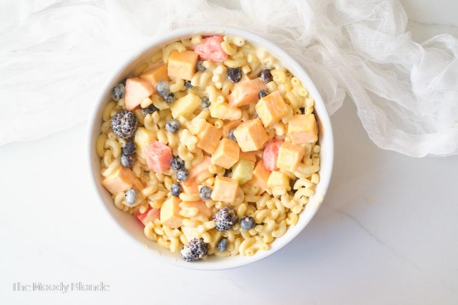 Easy Macaroni Fruit Salad