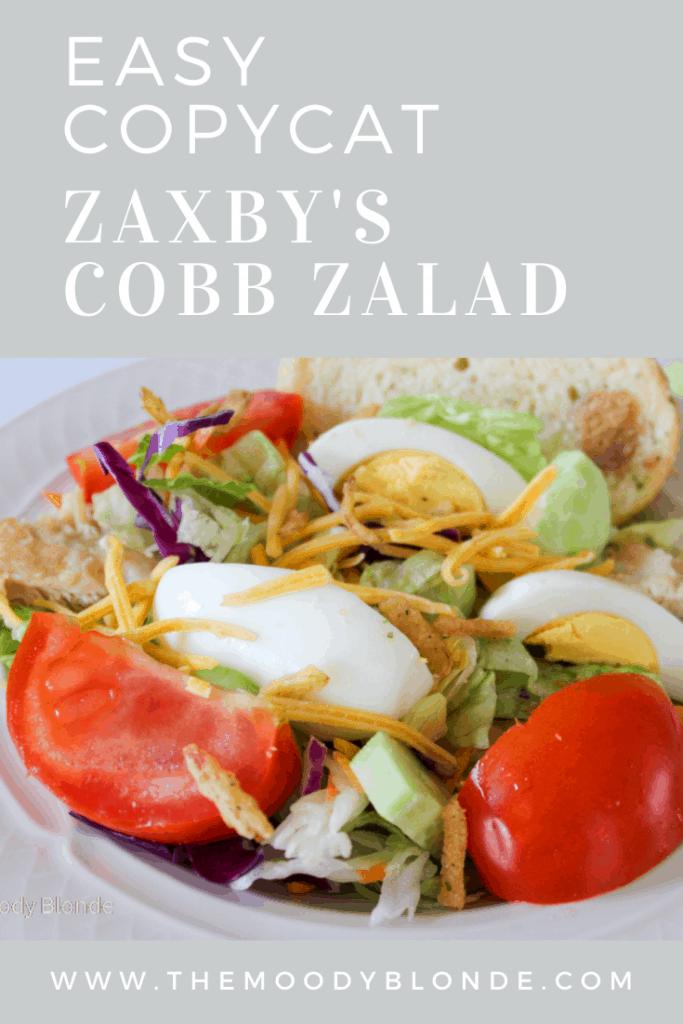 Copycat Zaxby's Cobb Salad