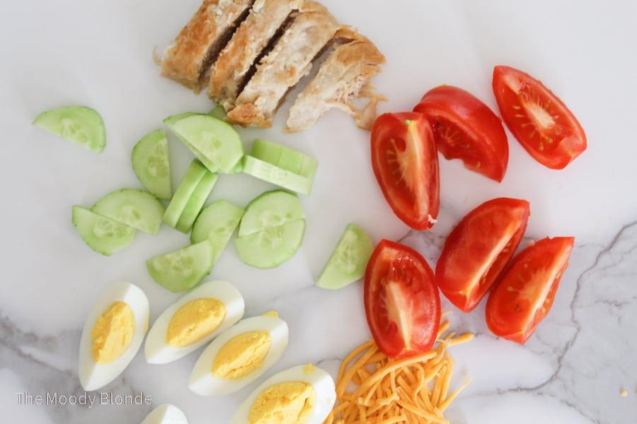 Zaxby's cobb salad ingredients